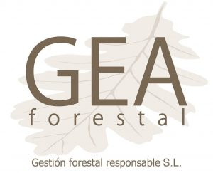 Gea Forestal contact logo