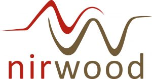 NIR wood logo